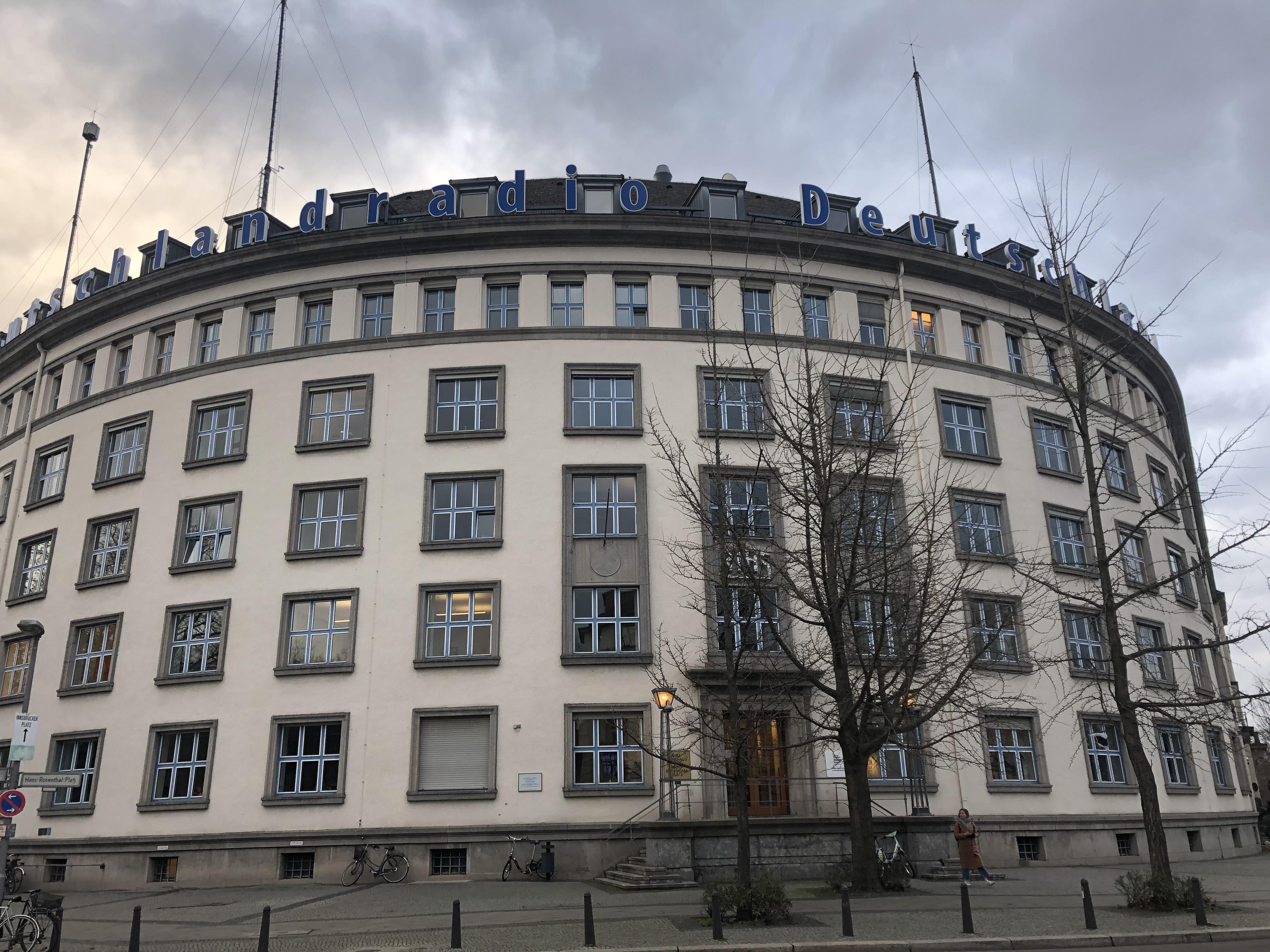 Het vroegere RIAS, nu omgedoopt tot Deutschlandfunk Kultur
