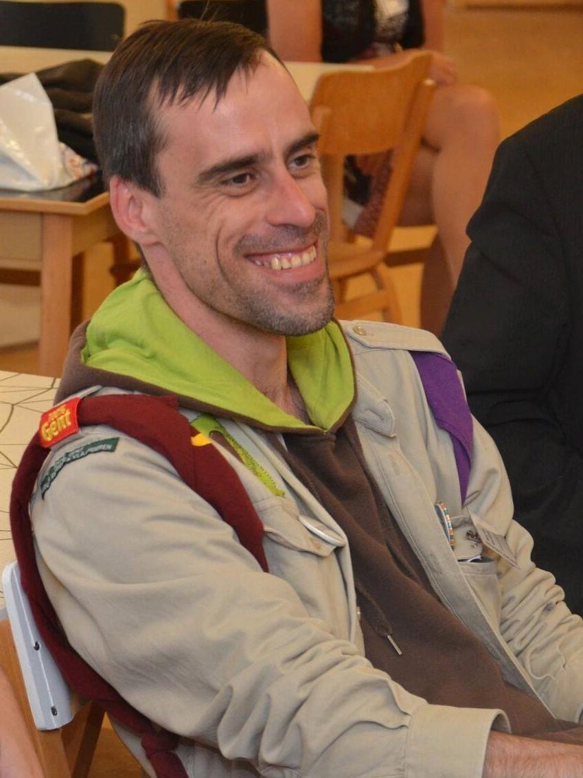 Diversiteitsmedewerker Hans Van Kerckhove van Scouts en Gidsen Vlaanderen