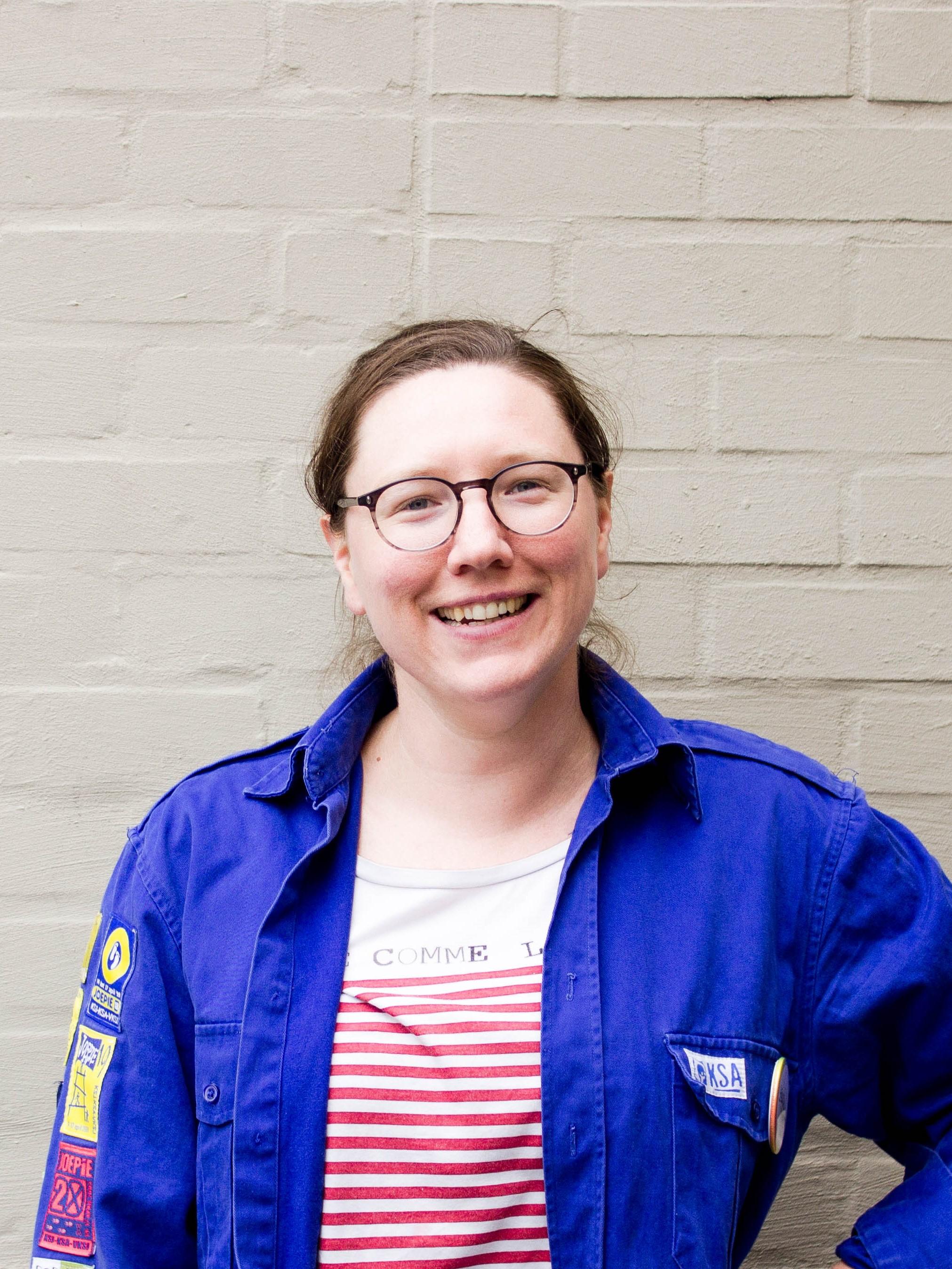 Pedagogisch mederwerker Ruth Busschaert van KSA Nationaal