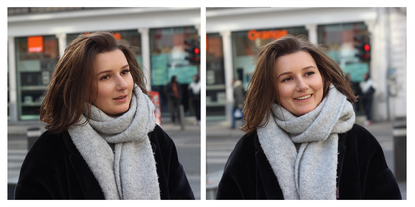 voor en na foto