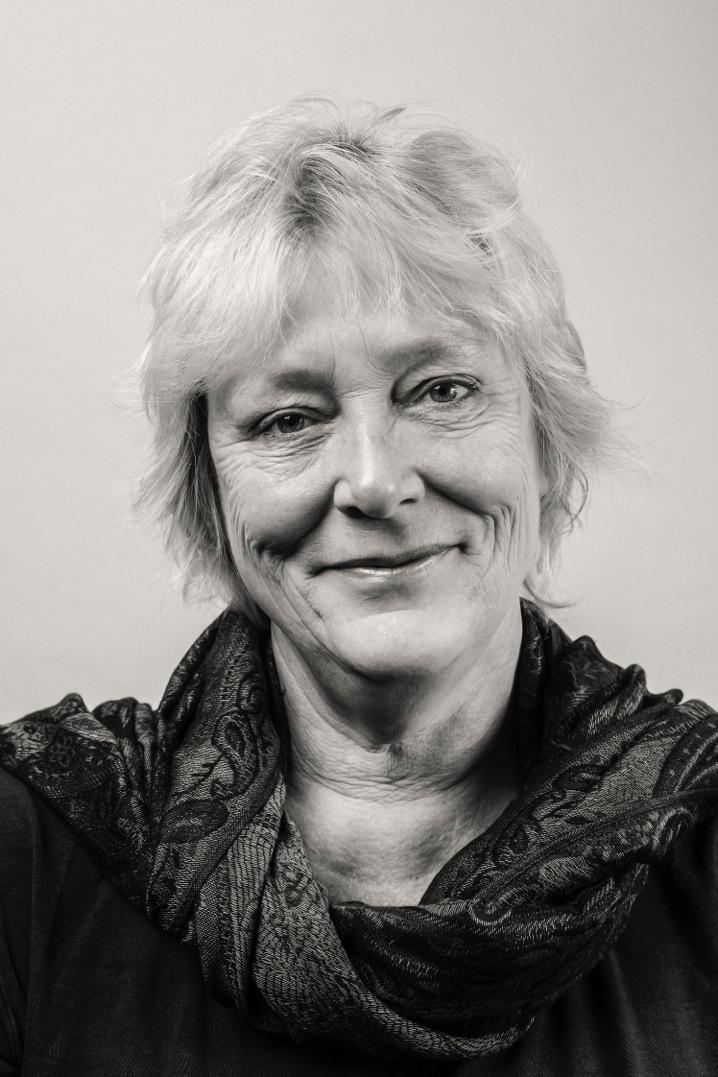 Linda Polman, de Nederlandse onderzoeksjournaliste die het boek 'Niemand wil ze hebben' publiceerde.
