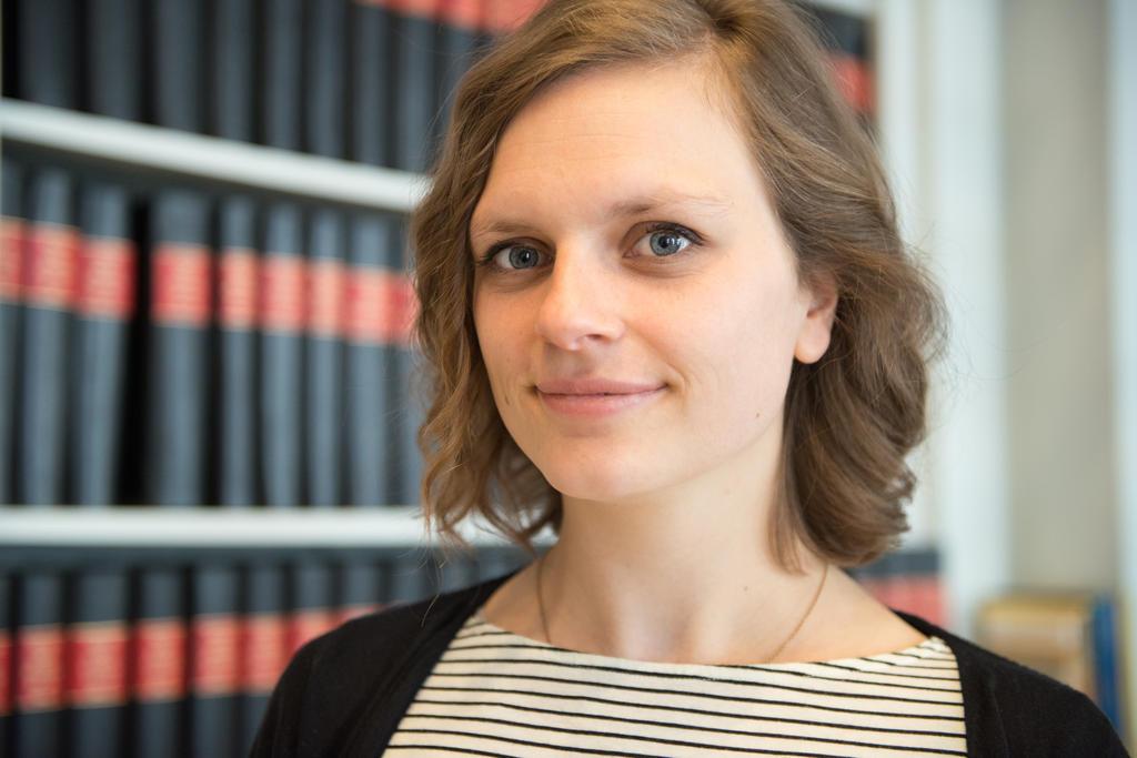 Nathalie Van Raemdonck, onderzoekster naar de verspreiding van desinformatie op online platformen aan de Vrije Universiteit Brussel.