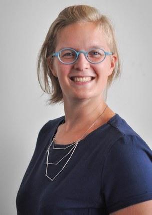 Kristin Van Damme, onderzoekster in journalistiek en innovatie aan de UGent en Artevelde Hogeschool