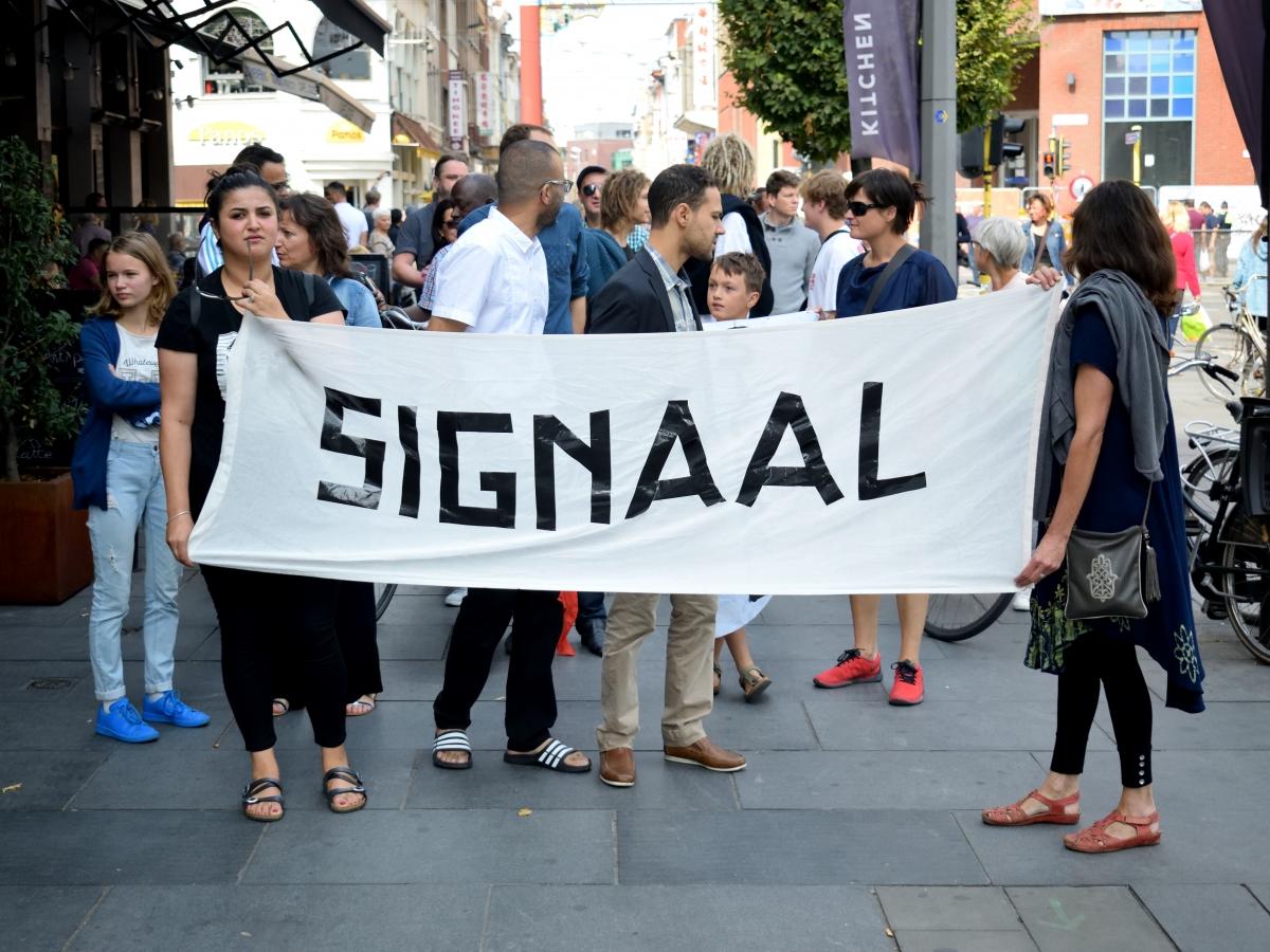 Buurtbewoners geven signaal aan Bart De Wever