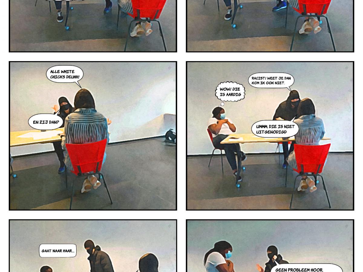 Maryams comic over racisme