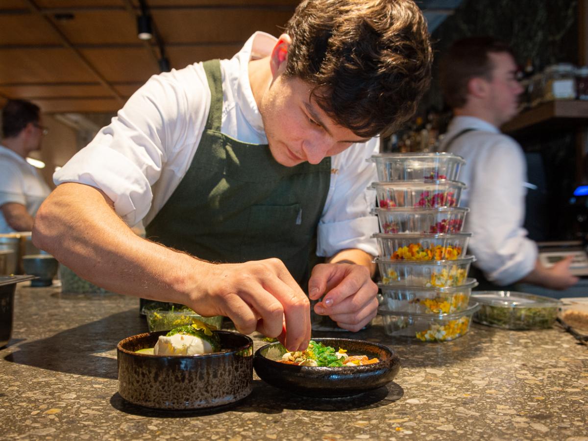 Chefkok en restaurantuitbater Karel De Clercq