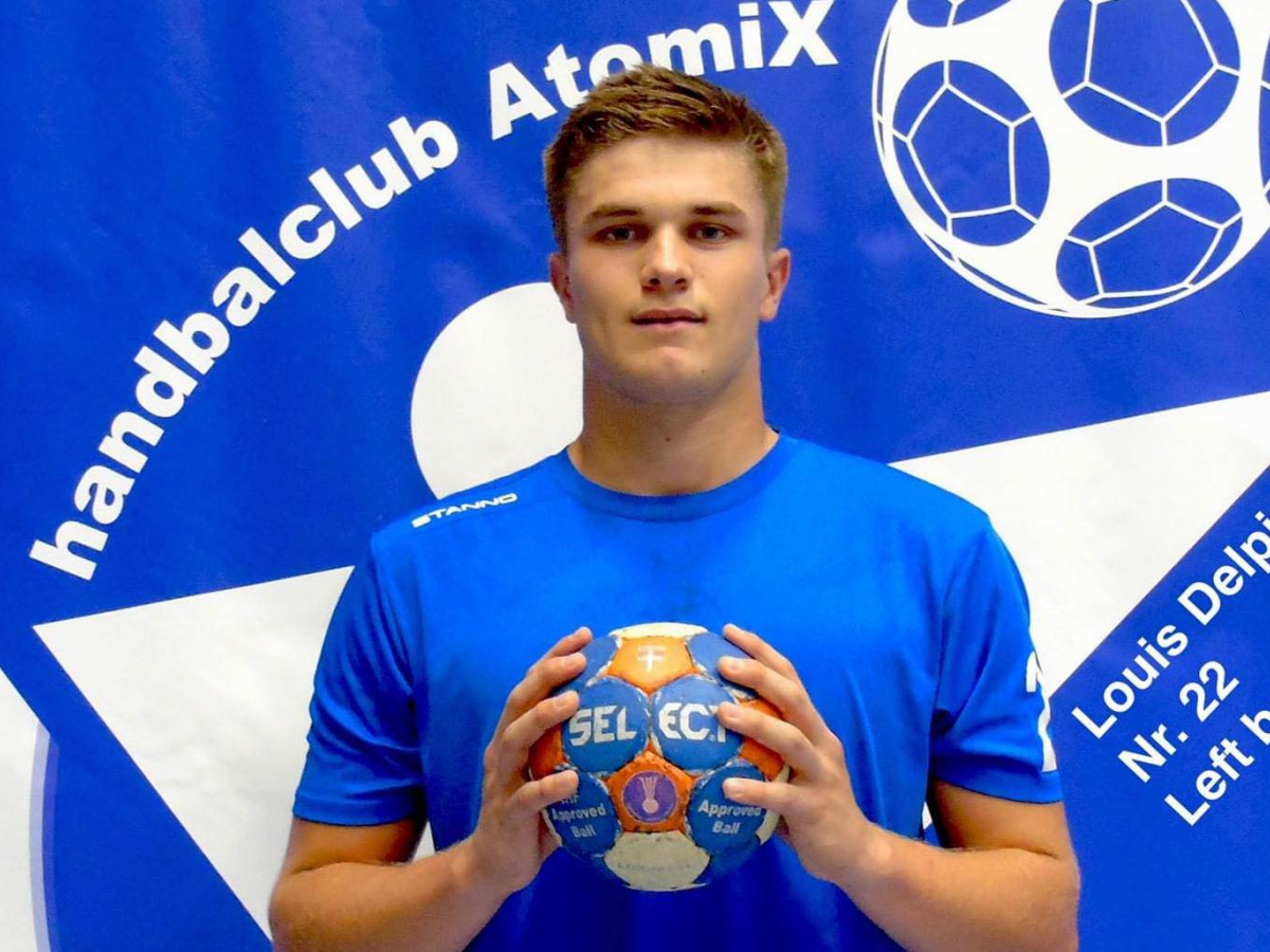 Handballer Louis Delpire