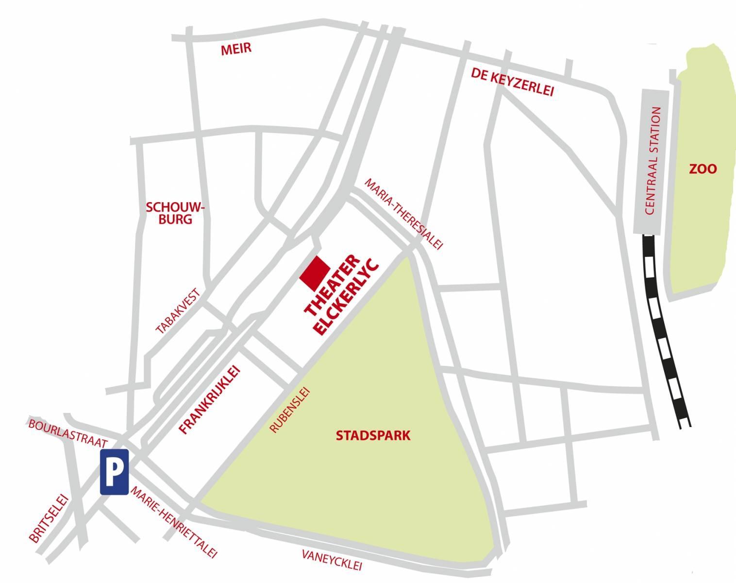 Stratenplan Theater Elckerlyc