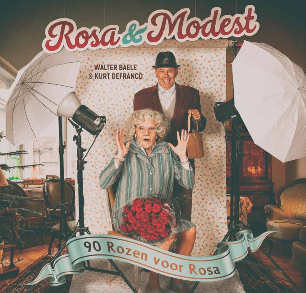 90 rozen voor Rosa