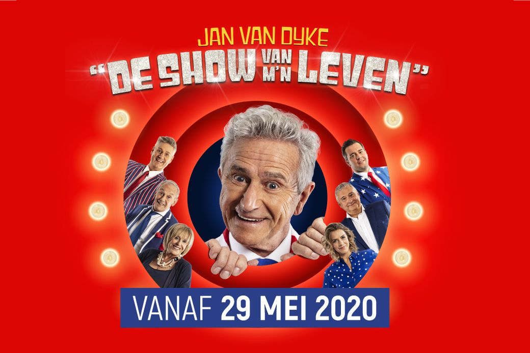 Jan Van Dyke - De show van m'n leven