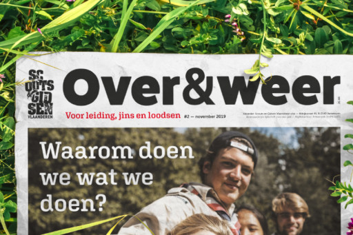 Scouts & Gidsen Vlaanderen Over&Weer krantje