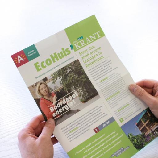 ecohuis - krant