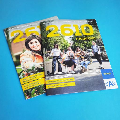 Het magazine 2610 van Wilrijk
