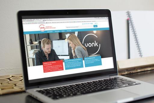webdesign huisstijl vonk