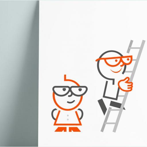 ontwerp figuurtje qlick