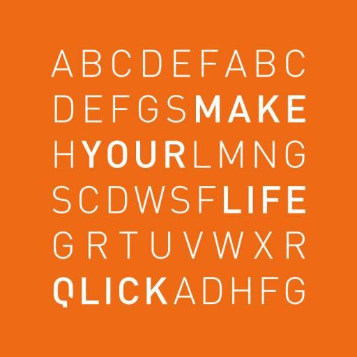 ontwerp typo2 qlick