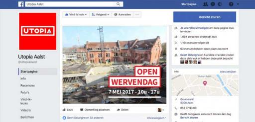 utopia aalst facebook