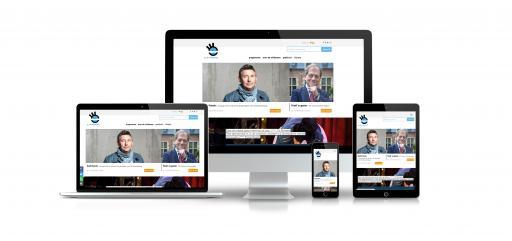 GC de Wildeman - responsieve schermen