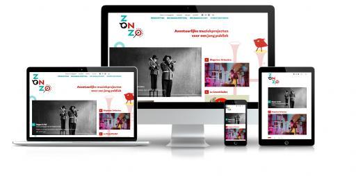 Zonzo compagnie - responsieve site