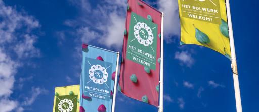 cc Het Bolwerk - vlaggen