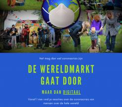 Poster wereldmarkt gaat door