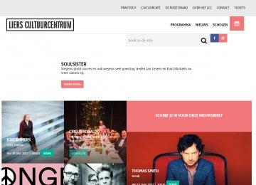 LIers cultuurcentrum - homepage