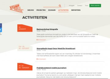 StampMedia activiteiten