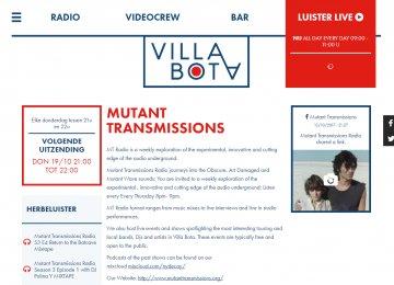 Villa Bota - detail uitzending
