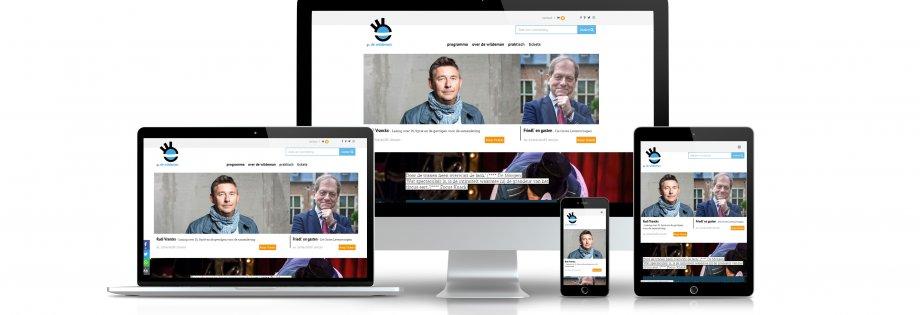 responsive website GC De Wildeman