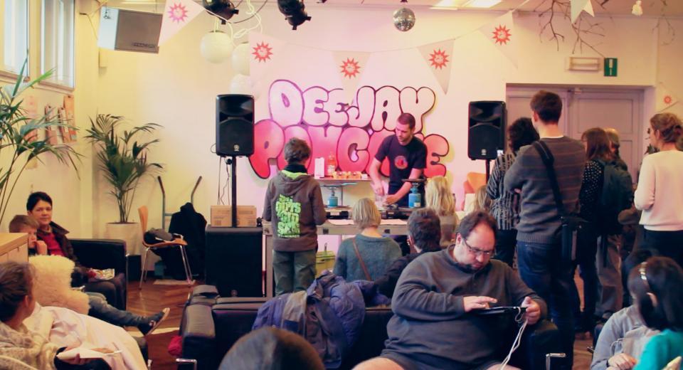 Deejay Pancake op BIG BANG BUURT CC Deurne