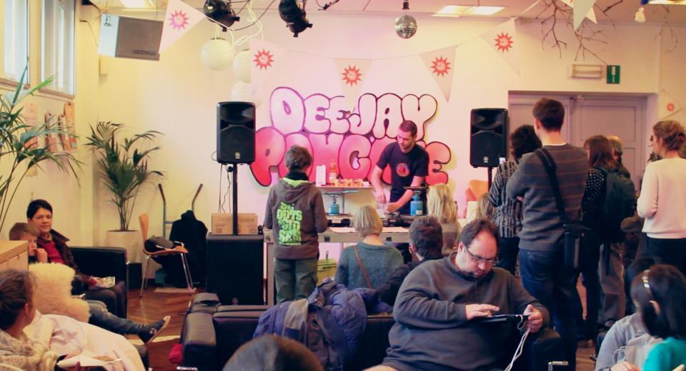 Deejay Pancake op BIG BANG BUURT