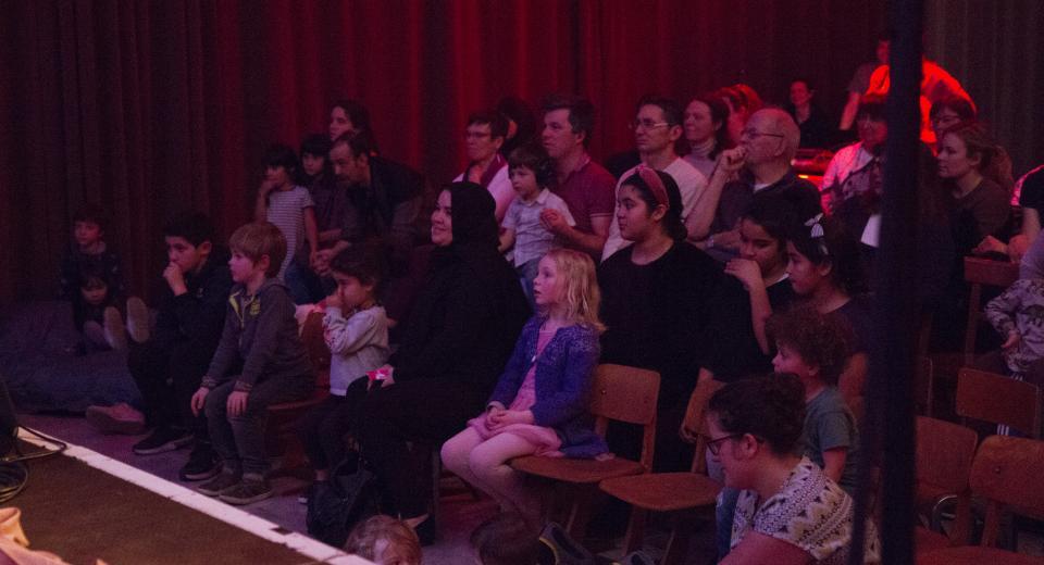 Publiek tijdens Liedjes met Wortels XL