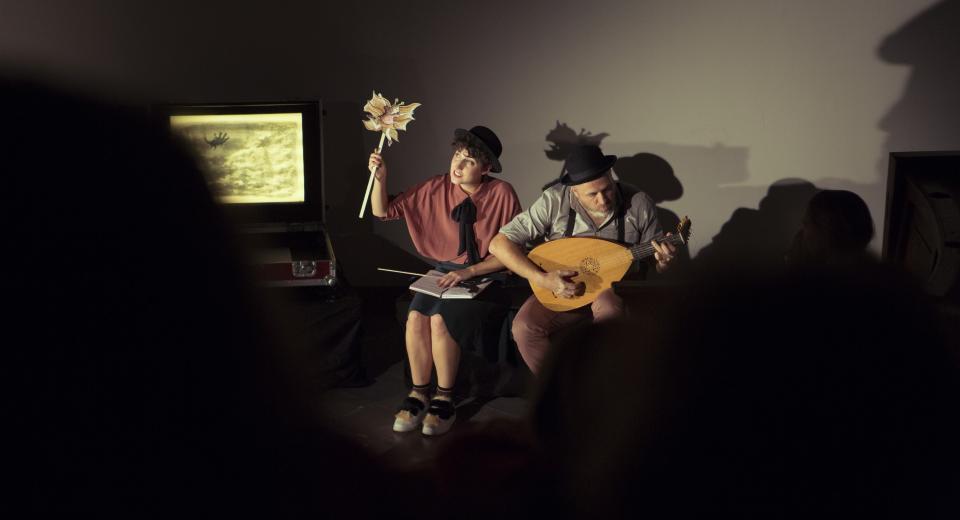 Aline Goffin en Jan Van Outryve in Liedjes met Wortels II