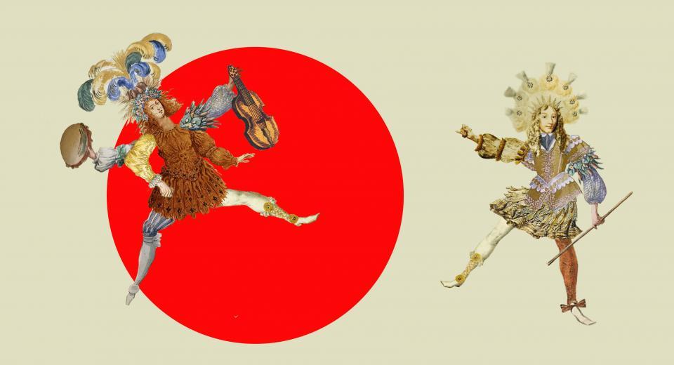 Productiebeeld voorstelling Le Grand Ballet van Zonzo Compagnie en Ictus Ensemble