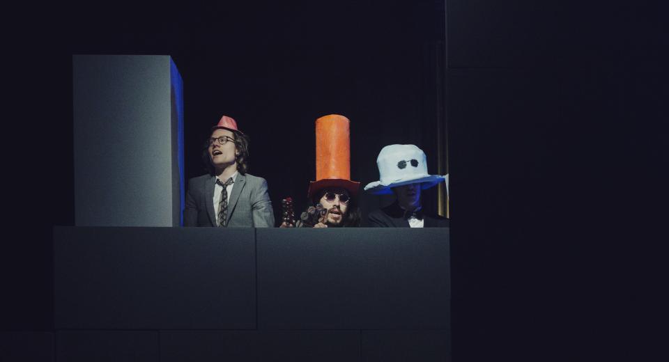 Beeld uit voorstelling THELONIOUS van Zonzo Compagnie met De Beren Gieren