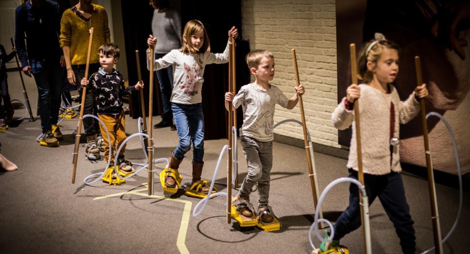 Muzieklabyrint Zonzo Compagnie StapStrument Stichting Logos