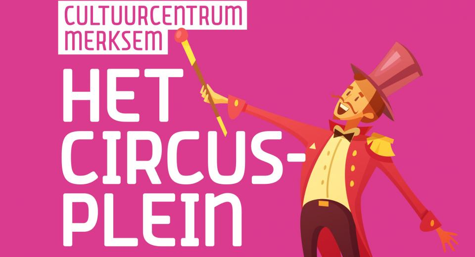 Affichebeeld Circusplein Merksem