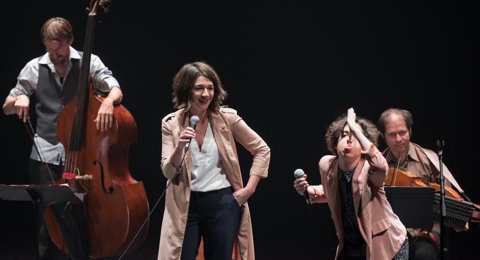 Scènebeeld Liedjes met Wortels XL Zonzo Compagnie