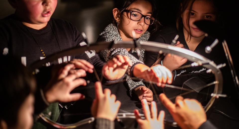 Beeld Muzieklabyrint 2019 in hetpaleis