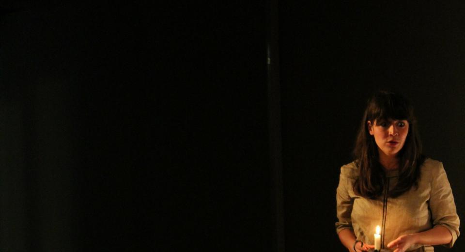 Beeld uit voorstelling Liedjes met Wortels I van Zonzo Compagnie