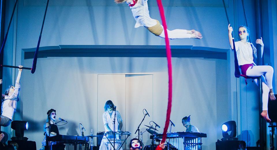 An Pierlé op de Circusplaneet op BIG BANG Festival 2012