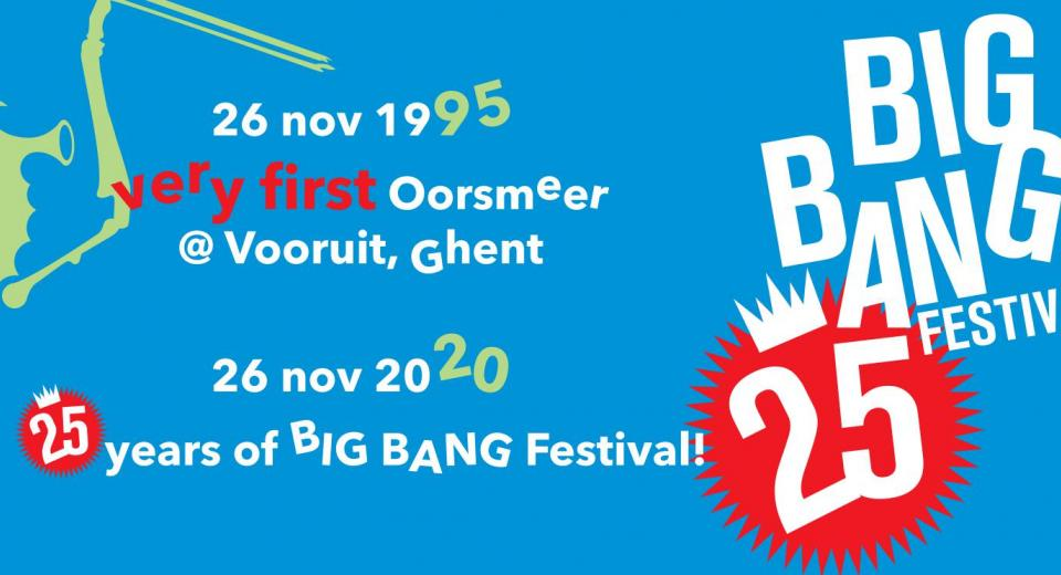 25 jaar BIG BANG banner