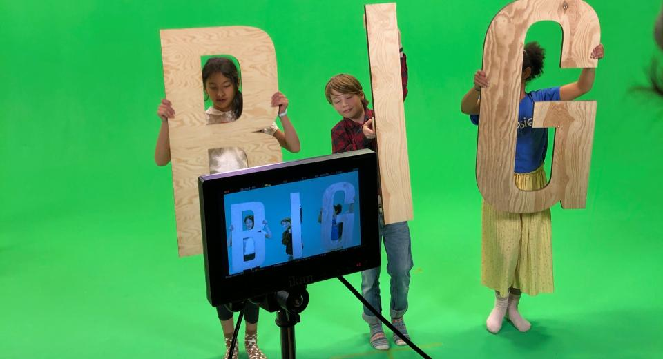 Opnames BIG BANG TV spot met BIG BANG ambassadeurs
