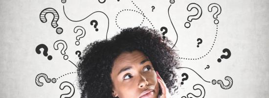 denkende-vrouw-vraagtekens