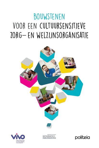 Cover van het boek Bouwstenen voor een cultuursensitieve zorg- en welzijnsorganisatie
