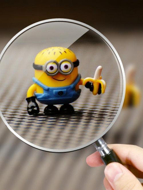 vergrootglas-minion