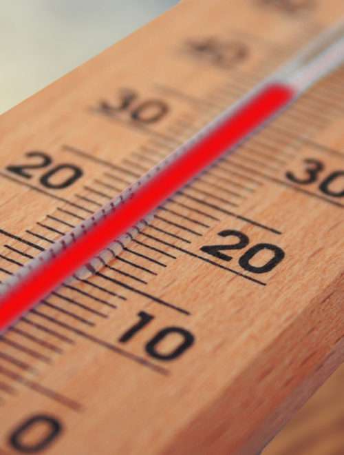 een thermometer