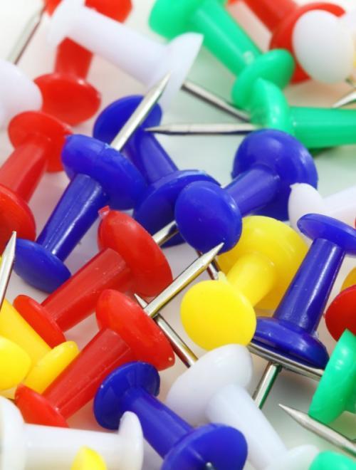 prikkers in alle kleuren