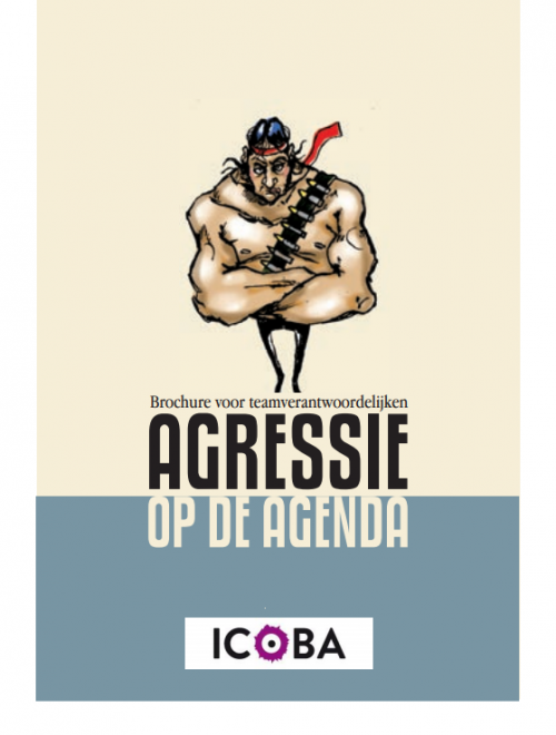 cover brochure agressie op de agenda