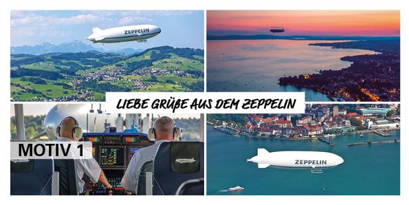 "Postkarte ""Zeppelin"""